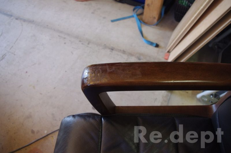 16-85 椅子補修