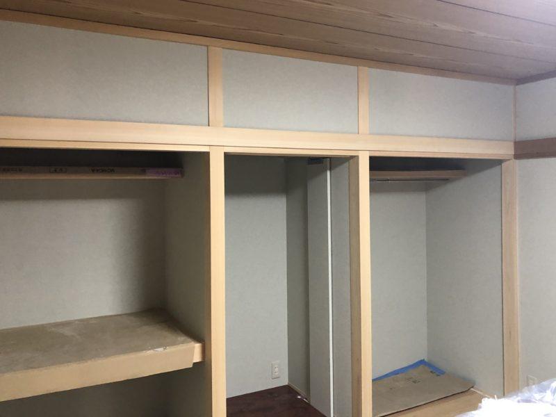 18-111  和室 着色補修