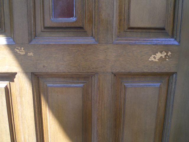 10-6 玄関ドア補修