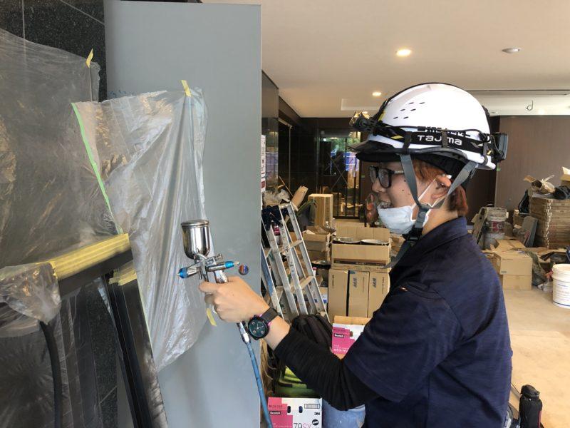 19-87 ドア塗装補修