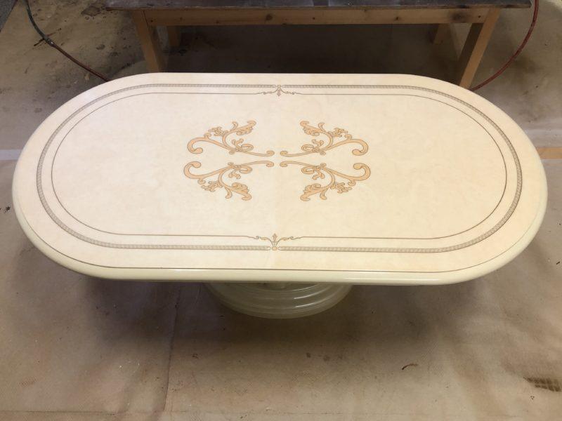 20-49 テーブル塗装補修