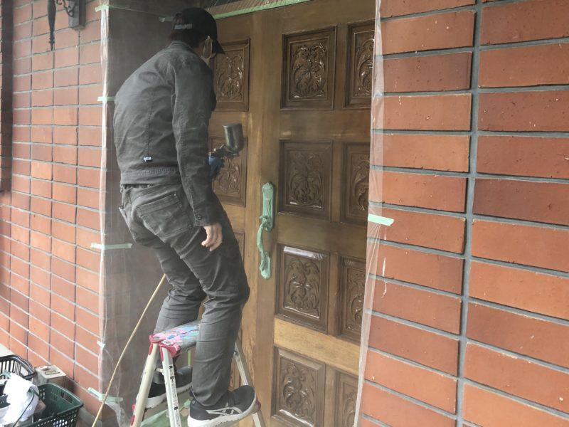 20-33 玄関ドア 補修