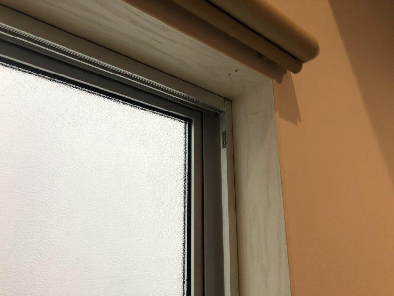20-128 窓枠 ビス穴消し