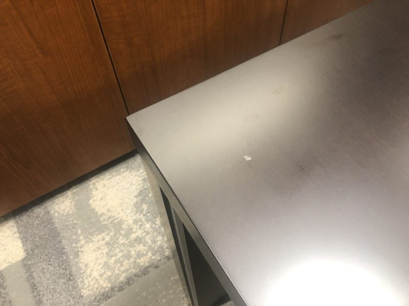 20-114 テーブル キズ補修