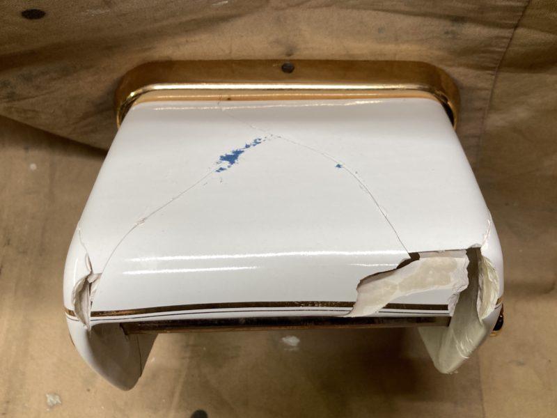 21-44 陶器 粉砕修理