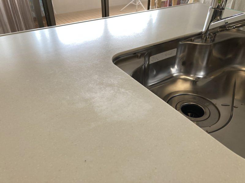 21-58 キッチン天板 再研磨
